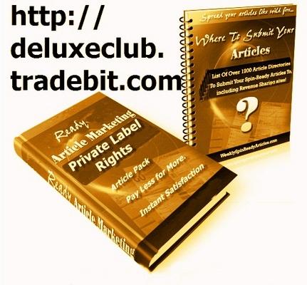 Product picture PLR Make Money With Articles Pack + Bonus PLR Membership